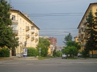 Novosibirsk, alley Krasnodonsky 2-y, house 6. Apartment house