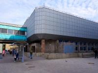 Новосибирск, улица Большевистская. станция метро Большевистская, вход метро №3-4