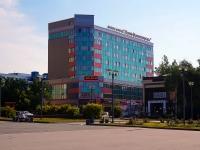 """Новосибирск, улица Кирова, дом 29. офисное здание """"Ново-Николаевскъ"""""""