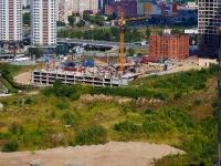 Новосибирск, улица Кирова. строящееся здание
