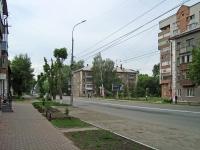 Novosibirsk, st Garanin, house 4. Apartment house