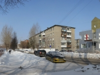 Novosibirsk, st Garanin, house 5. Apartment house