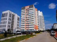 Новосибирск, улица Якушева, дом 16/1. многоквартирный дом