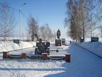 Новосибирск, улица Новоморская. памятник Воину-освободителю «Алёша»