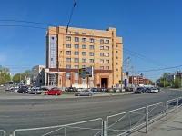 """Новосибирск, улица Владимировская, дом 2/1. офисное здание """"Пентагон"""""""