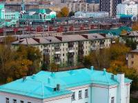 Новосибирск, улица Владимировская, дом 14. многоквартирный дом