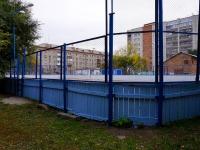 Новосибирск, улица Владимировская. спортивная площадка