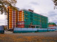 Новосибирск, улица Владимировский Спуск, дом 2 к.1. строящееся здание