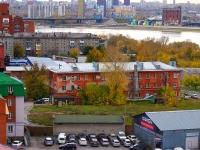 Новосибирск, улица Владимировский Спуск, дом 2С. многоквартирный дом