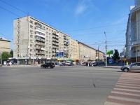 Новосибирск, улица Вокзальная магистраль, дом 13. многоквартирный дом