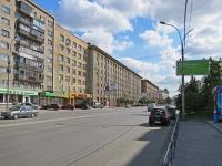 Новосибирск, улица Вокзальная магистраль, дом 15. офисное здание