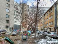 Новосибирск, улица Вокзальная магистраль, дом 18. многоквартирный дом
