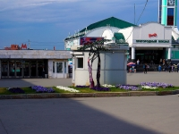 Новосибирск, улица Вокзальная магистраль. правоохранительные органы Пост полиции