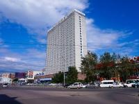 """Новосибирск, улица Вокзальная магистраль, дом 1. гостиница (отель) """"Конгресс-Отель Новосибирск"""""""