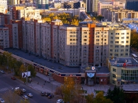 Новосибирск, улица Вокзальная магистраль, дом 4/1. многоквартирный дом