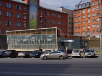 Новосибирск, Димитрова проспект, дом 1/2. неиспользуемое здание