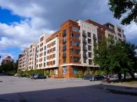 Новосибирск, улица Урицкого, дом 6. многоквартирный дом
