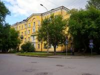 Новосибирск, улица Урицкого, дом 12. многоквартирный дом