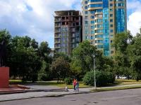 Новосибирск, улица Урицкого, дом 19. строящееся здание