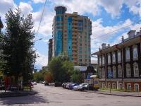 Новосибирск, улица Урицкого, дом 21. многоквартирный дом