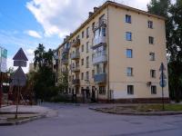 Новосибирск, улица Урицкого, дом 4. многоквартирный дом