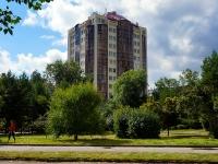 Новосибирск, улица Урицкого, дом 20. многоквартирный дом