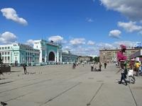 Новосибирск, площадь Гарина-Михайловского. площадь Гарина-Михайловского