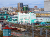 Novosibirsk, st Dvizhentsev, house 1. railway station