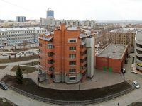 Новосибирск, Комсомольский проспект, дом 15. многоквартирный дом