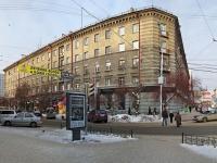 Новосибирск, улица Ленина, дом 8. многоквартирный дом