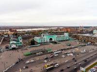 Новосибирск, улица Дмитрия Шамшурина. площадь Гарина-Михайловского