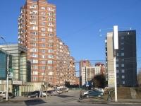Новосибирск, улица Галущака, дом 1. многоквартирный дом