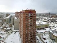 Новосибирск, улица Галущака, дом 3. многоквартирный дом