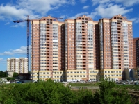 Novosibirsk, st Galushchak, house 4. Apartment house