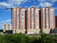 """Новосибирск, улица Галущака, дом 4. многоквартирный дом """"Идиллия"""""""