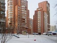 Новосибирск, улица Галущака, дом 9. многоквартирный дом