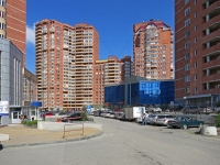 Novosibirsk, st Galushchak, house 11. Apartment house