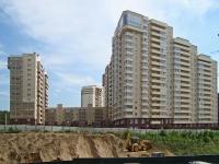 """Новосибирск, улица Галущака, дом 17. многоквартирный дом """"Орлёнок"""""""