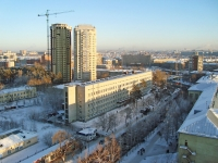 Новосибирск, улица Залесского, дом 4. университет Новосибирский государственный медицинский университет (НГМУ)