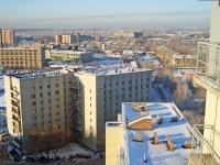 Новосибирск, улица Залесского, дом 7. многоквартирный дом