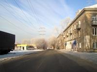 Новосибирск, улица Залесского, дом 14. многоквартирный дом