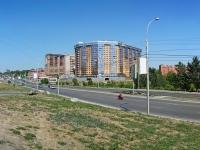 Новосибирск, улица Военная, дом 9/1. многоквартирный дом
