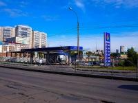 """Новосибирск, улица Военная, дом 8. автозаправочная станция """"Прайм"""""""