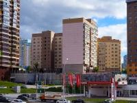 Novosibirsk, st Voennaya, house 9. Apartment house
