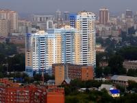 Новосибирск, улица Военная, дом 16. многоквартирный дом