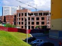 Novosibirsk, st Voennaya. building under construction