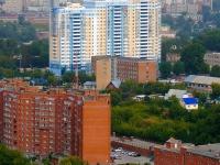 Новосибирск, улица Военная, дом 12. общежитие