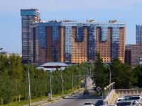 Novosibirsk, st Voennaya, house 9/1. Apartment house