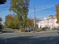 Novosibirsk, st Voinskaya, house 3. school