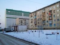 Новосибирск, улица Выборная, дом 93. многоквартирный дом